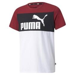 PUMA T-SHIRT ESS COLORBLOCK...